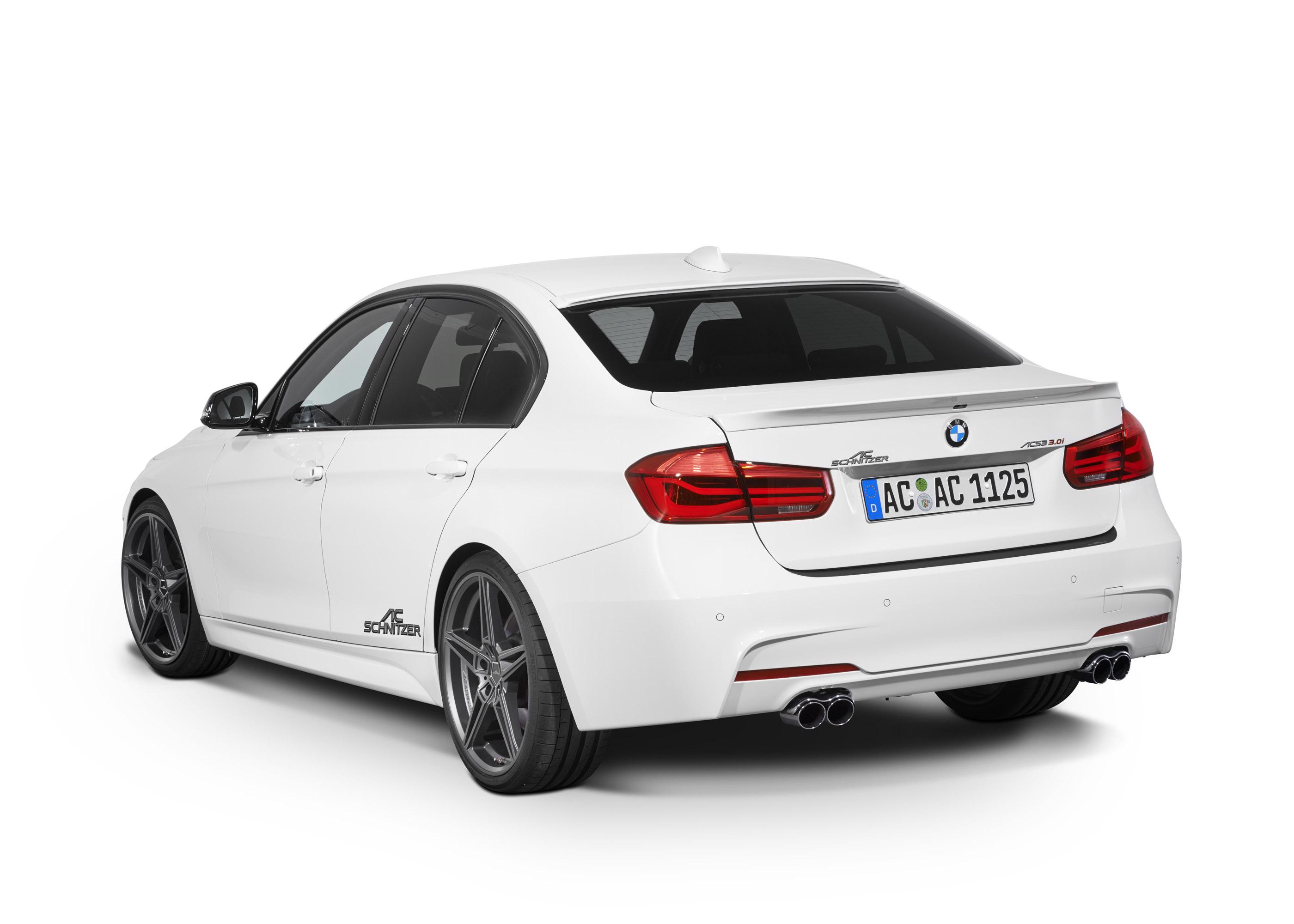 AC Schnitzer обновления BMW 3-й серии - фотография №3