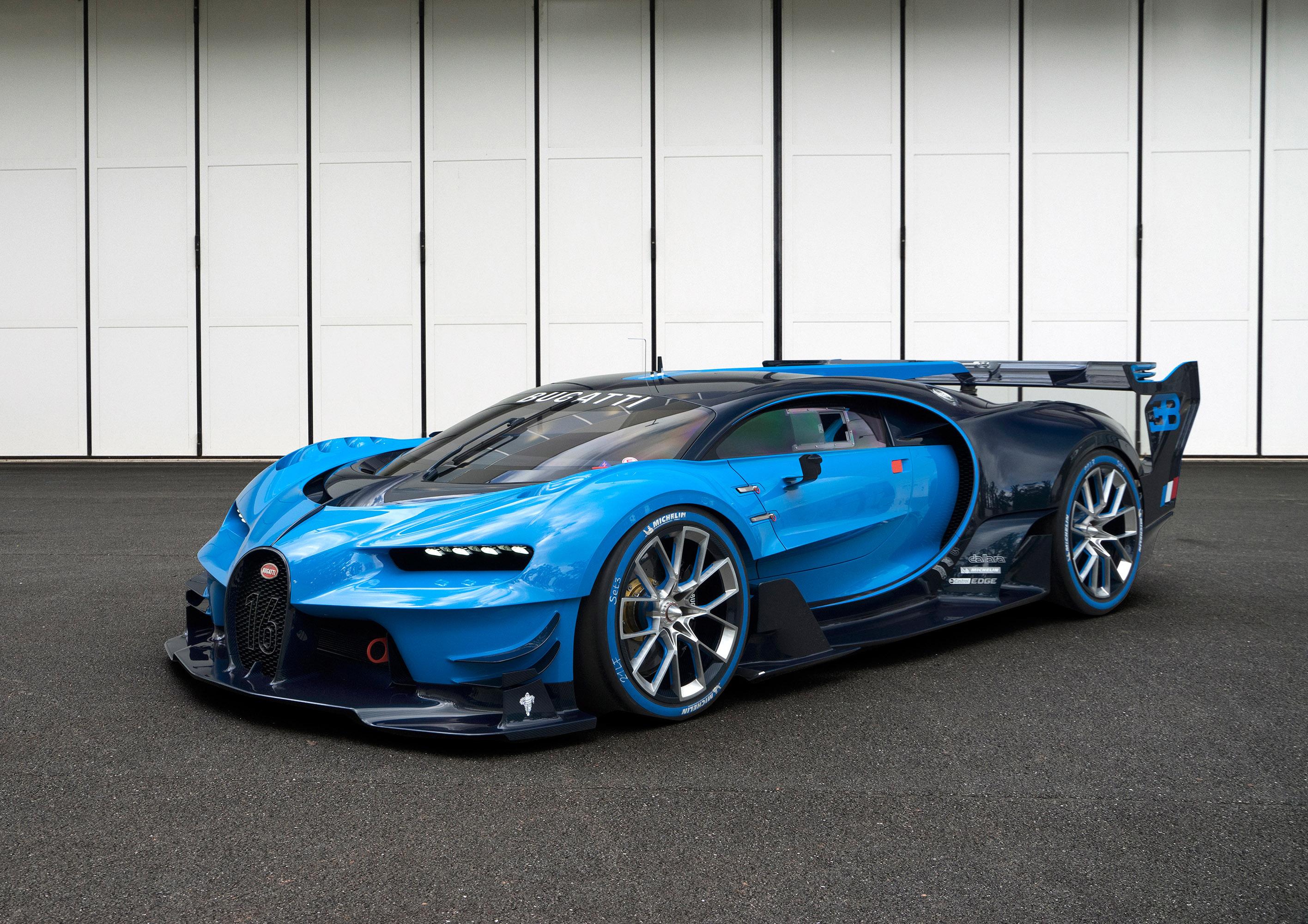 Bugatti Vision Gran Turismo Concept - фотография №11