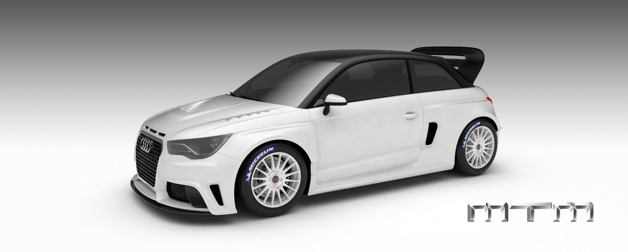 MTM Audi A1 quattro nardo edition - фотография №2