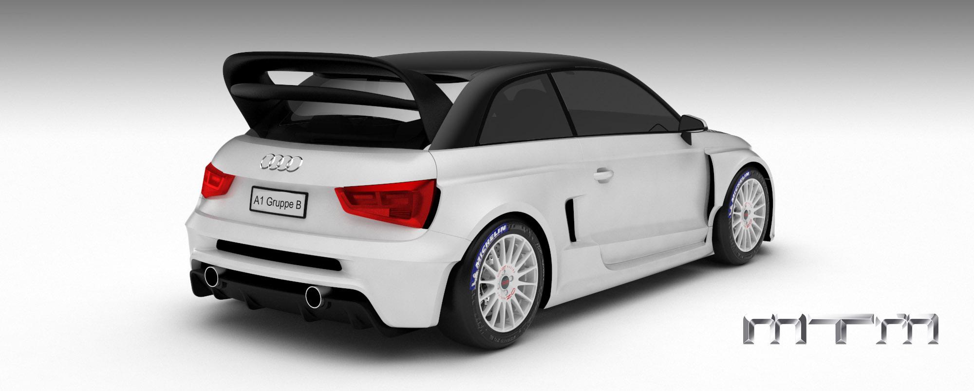 MTM Audi A1 quattro nardo edition - фотография №3