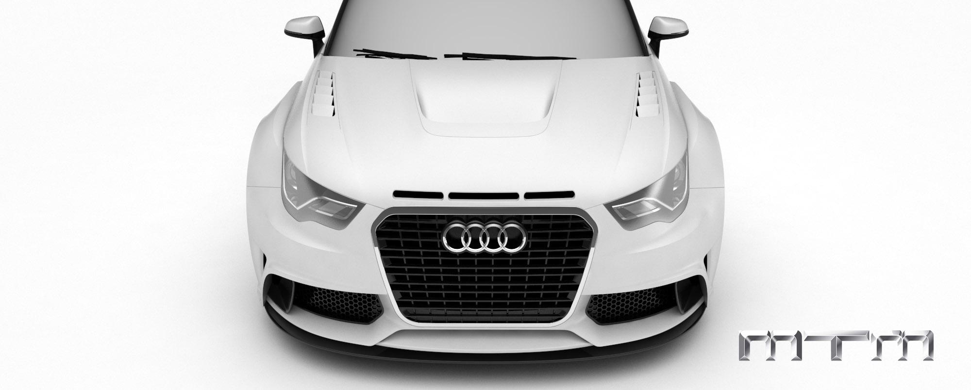 MTM Audi A1 quattro nardo edition - фотография №5