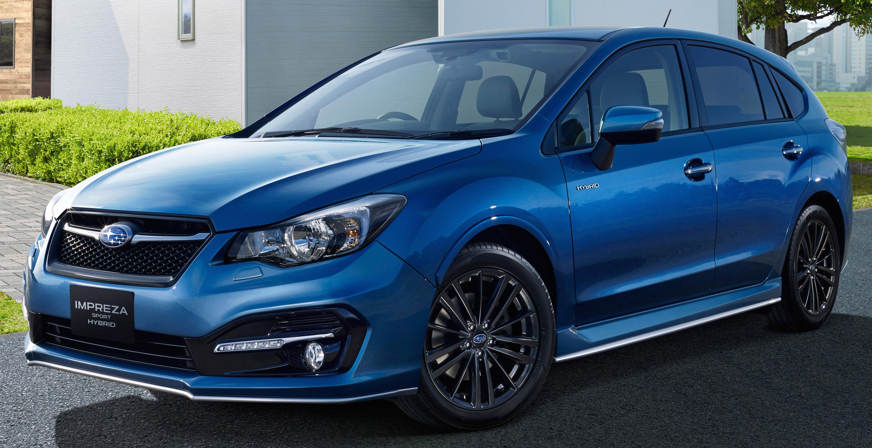 Subaru Impreza Sport hybrid - фотография №3