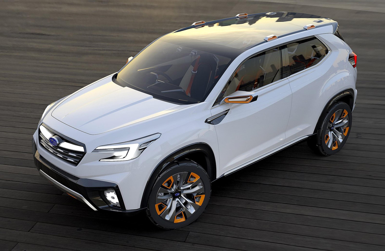 Subaru viziv future - concept - фотография №2