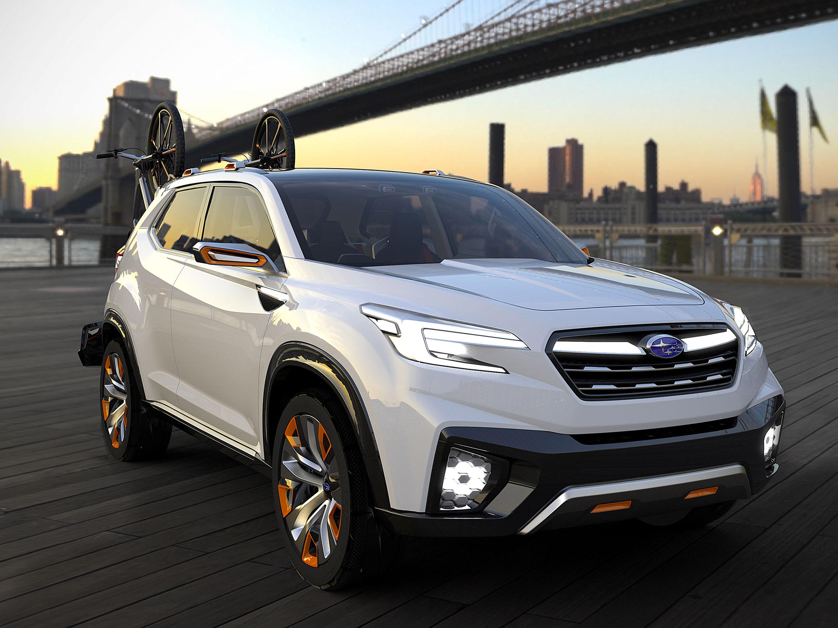 Subaru viziv future - concept - фотография №3