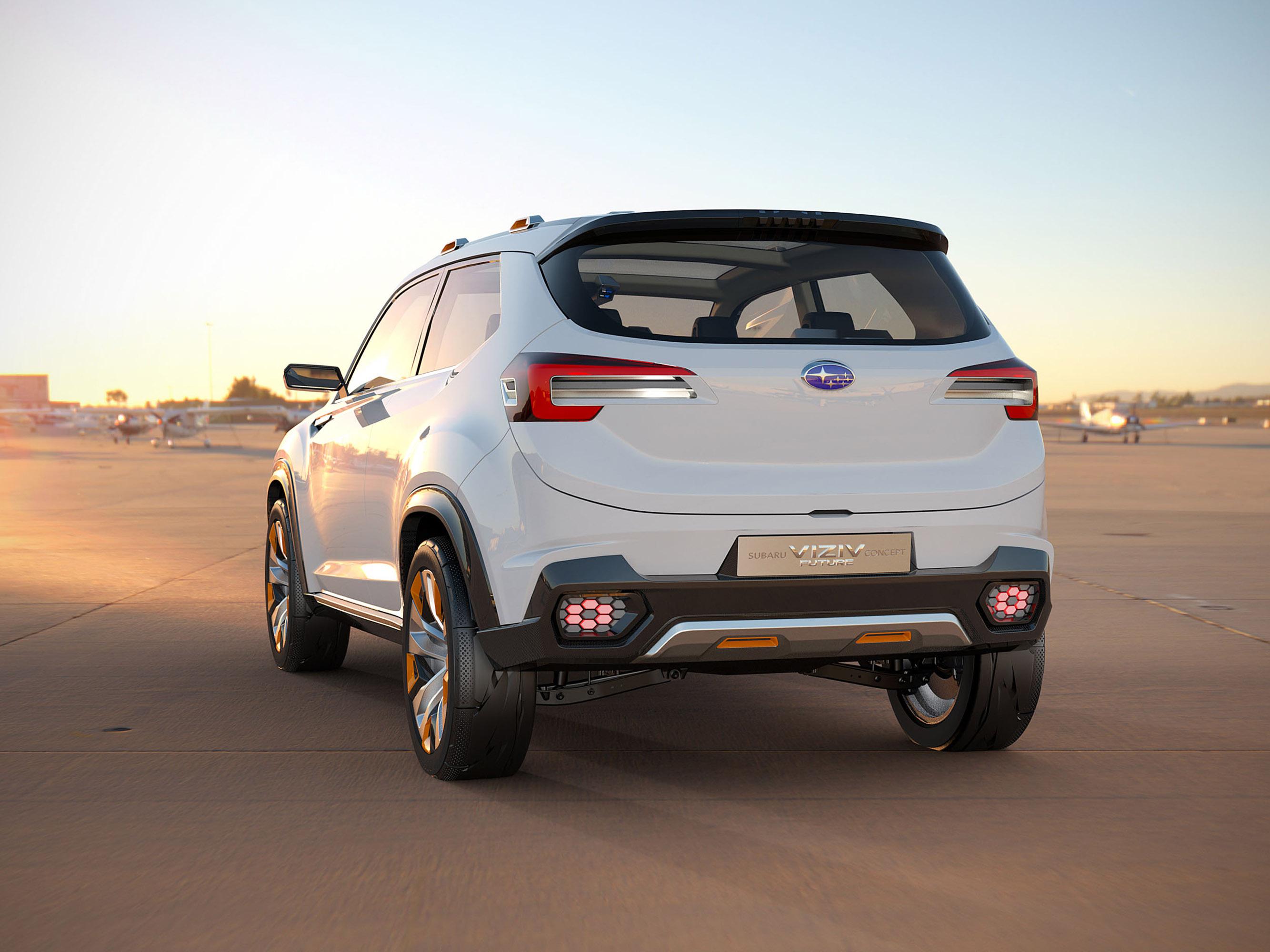 Subaru viziv future - concept - фотография №5