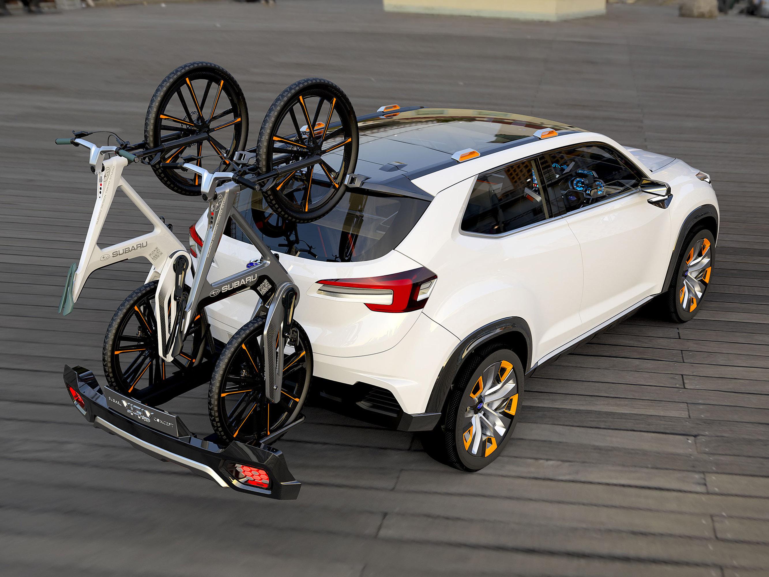 Subaru viziv future - concept - фотография №6