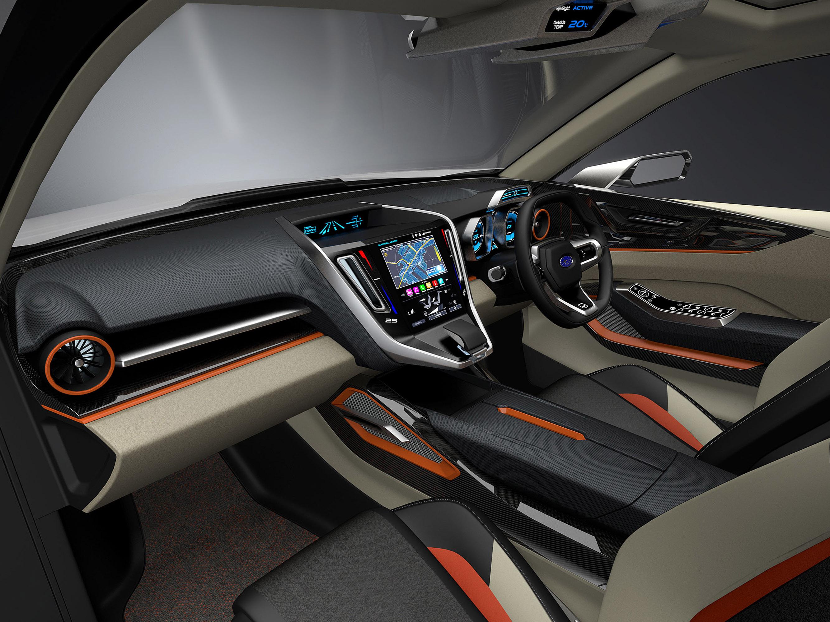 Subaru viziv future - concept - фотография №8