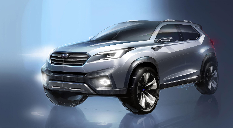 Subaru viziv future - concept - фотография №10