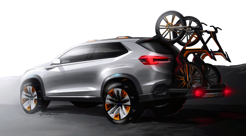 Subaru viziv future - concept - фотография №11