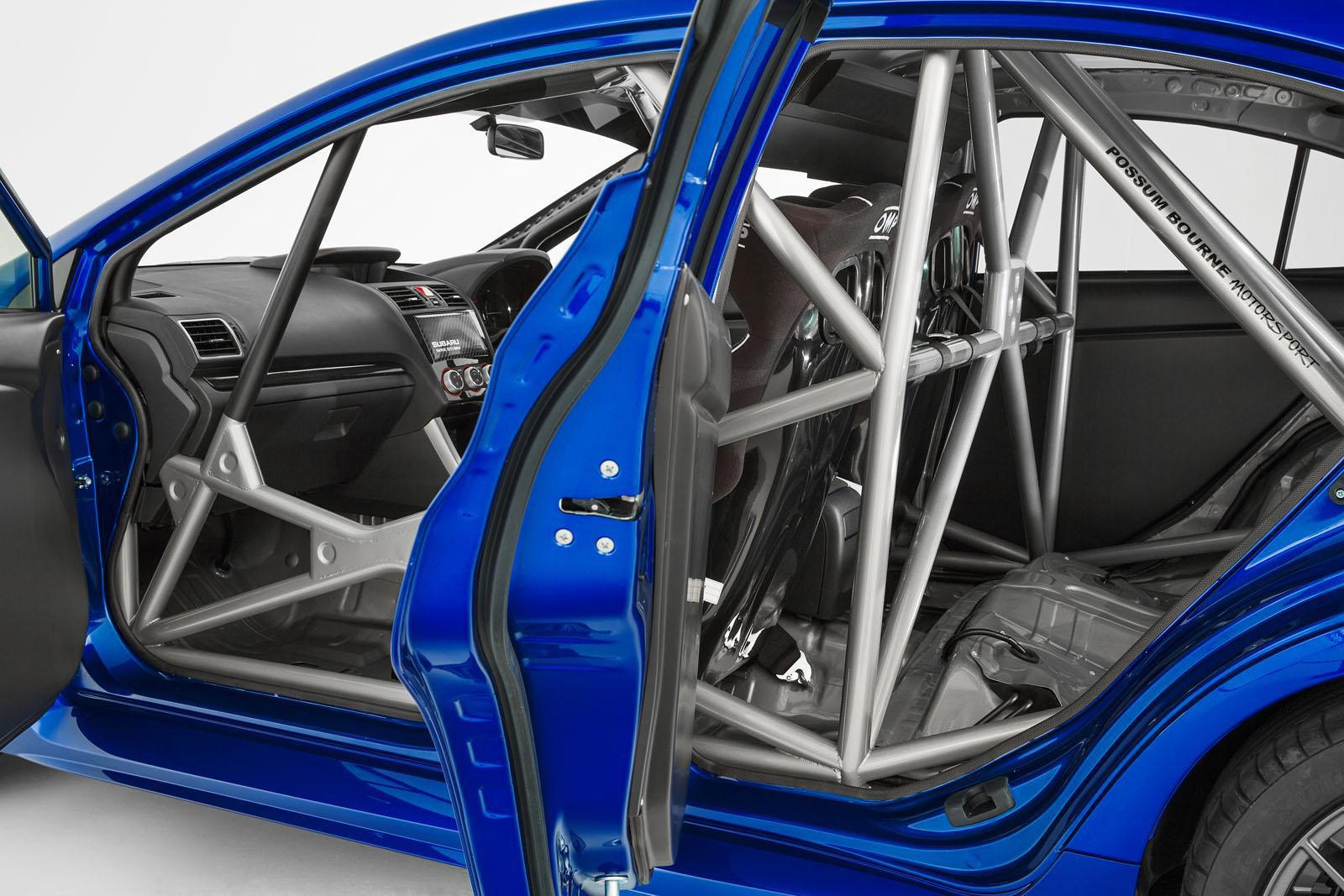 Subaru WRX STI NR4 - фотография №8