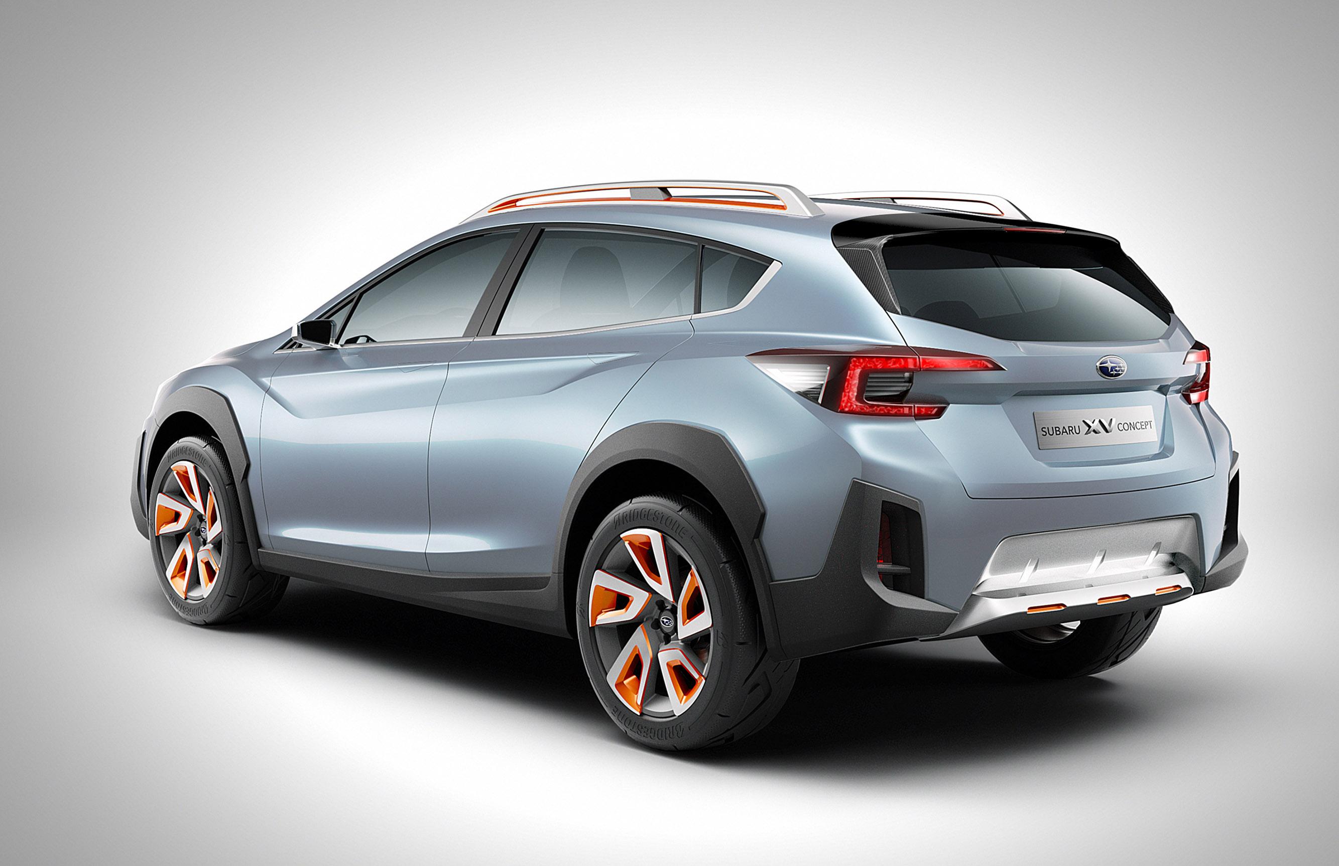 Subaru XV - concept - фотография №2