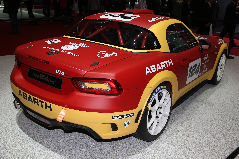 Abarth - новые потрясающие автомобили - фотография №5